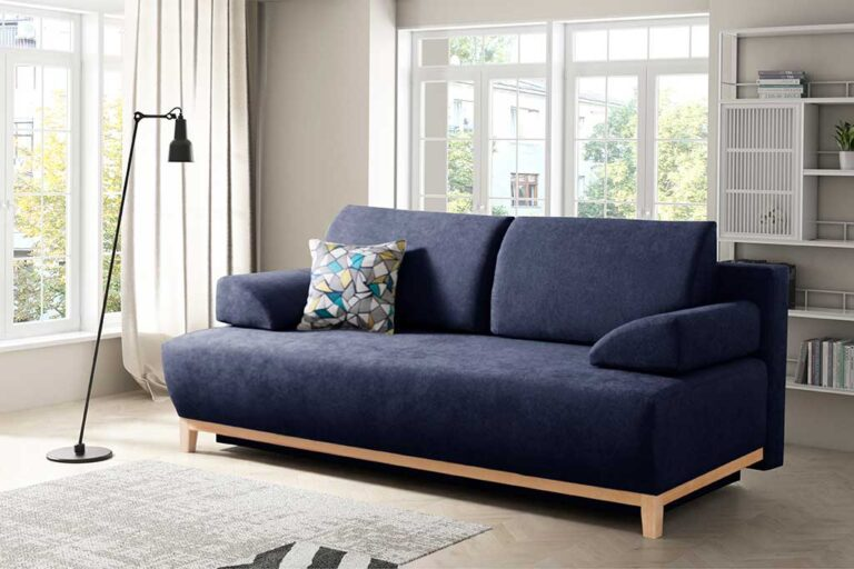 DALMON Ciemno niebieska kanapa