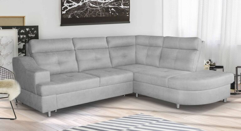 NOVELIA CLASSIC Premium to narożnik, który jest idealny do minimalistycznych wnętrz. Wykonany z sprężyny falistej i pianki HR, co zapewnia komfort i trwałość na długie lata.