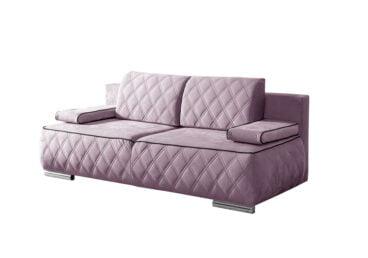 Różowa kanapa MERIDA