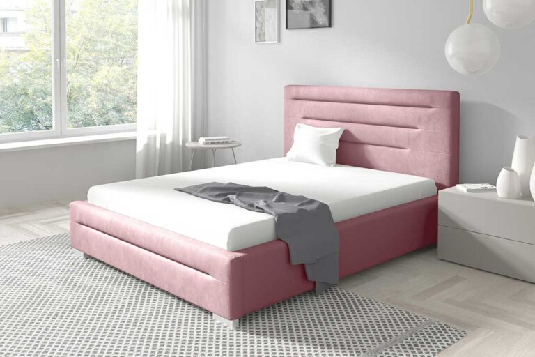 Łóżko tapicerowane HUAKAI